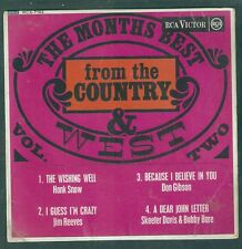 C & W .Hank Snow-Don Gibson-Jim Reeves-Skeeter Davis.Elusive UK EP RCA.Country