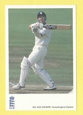 CRICKET - CLASSIC CRICKET POSTCARD - NO. 143  -  ALEC  STEWART  OF  SURREY