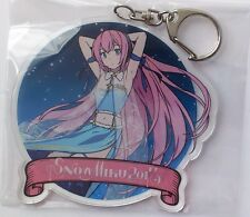 Megurine Luka acrylic key holder Snow Miku 2017 key chain sega interactive Japan