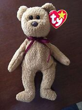 TY BEANIE BABY RARE CURLY BEAR WITH ERRORS.
