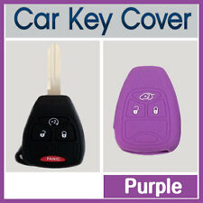 CAR KEY PROTECTOR COVER CASE DODGE CALIBER DURANGO RAM JEEP COMPASS PURPLE
