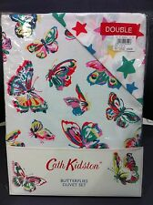 New Cath Kidston Butterflies DOUBLE Duvet Cover with 2 Pillowcases - RRP £55.00