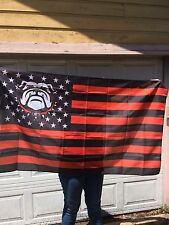 new university of georgia stars and stripes 3x5 ft flag