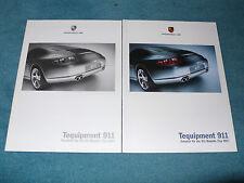 Prospetto PORSCHE 997 Tequipment 911 – accessori per la 911er, 5.2004, 28s. + PREZZI