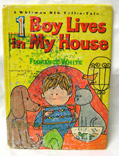 """50 % OFF SALE !! - BigTell aTale Book """"1 BOY LIVES IN MY HOUSE"""" - 1965 - hb/pc"""