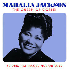 Mahalia Jackson QUEEN OF GOSPEL Best Of 50 Songs ESSENTIAL Music NEW SEALED 2 CD