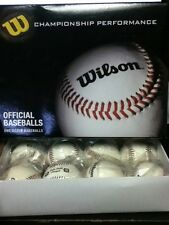 New Wilson Dozen (12) WTA1074 OFFICIAL Little League Full Leather Baseballs