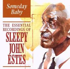 Sleepy John Estes(CD Album)Someday Baby-Indigo-IGOCD2041-UK-1996-New