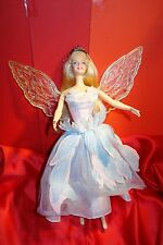 Barbie doll as fairytale princess Odette from  ballet Swan Lake, wings light up