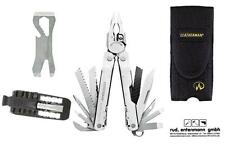 Leatherman Multi Tool Super Tool 300 + Croc + Bithalter + Holster