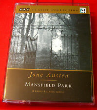 Jane Austen Mansfield Park BBC 2-Tape Audio Drama Hannah Gordon/Michael Williams