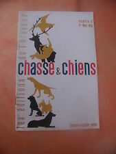 CHASSE&CHIENS.les editions de l'eleveur..n°5..1956