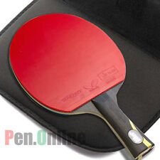 DOUBLE HAPPINESS HURRICANE WANG RACKET TABLE TENNIS PING PONG PADDLE LONG HANDLE