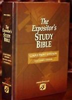The Expositor's Study Bible - Giant Print, Jimmy Swaggart, Good Book