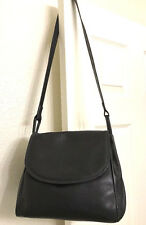 Bottega Veneta Black textured leather shoulder bag. hobo, silver hardware.