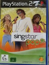 PlayStation 2 / PS2 Singstar Pop - Game - no booklet