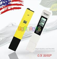 New Digital Ph Meter + 3 IN 1 TDS Tester Aquarium Pool Hydroponic Water Monitor