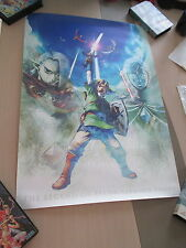 THE LEGEND OF ZELDA SKYWARD SWORD CLUB NINTENDO JAPAN OFFICIAL B2 POSTER!