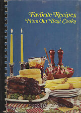 *HIGH POINT NC 1976 VINTAGE COOK BOOK *IMMACULATE HEART OF MARY CATHOLIC CHURCH
