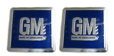 68-77 Chevy Chevelle / Nova & Buick Skylark / GS Metal Door Jamb Decals - Blue