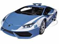 LAMBORGHINI HURACAN LP610-4 POLICE 1/18 DIECAST CAR MODEL BY BBURAGO 11041