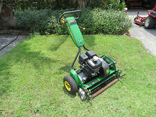 John Deere 260C Golf Greens Tee Professional  Reel Mower - Groomer Brush  Wheels