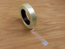 """EXTRA STRONG 1"""" Fiberglass Reinforced Strapping Filament Tape 180' 60 yd"""