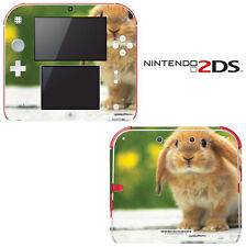 Vinyl Skin Decal Cover for Nintendo 2DS - Cute Bunny Rabbit