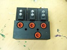 New Delta Hydraulic Solenoid Valve body assembly Run two DA Hydraulic Cylinders