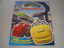 Chuggington Eisenbahn - Stickerbuch - über 45 Sticker - 6 bahntastische Bilder