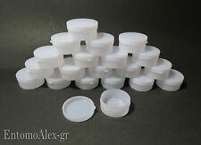 contenitori pilloliere Polietilene vuoti 10g x20 tappo pressione x perline creme