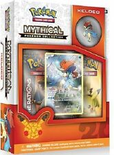 Pokemon Mythical Collection Pin Box Keldeo 20th Anniversary Generations Packs