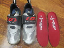 LG GARNEAU LG ER GO AIR TRIATHLON TIME TRAIN CYCLING SHOES 38 (2) SET OF INSOLES