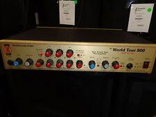 used David Eden World Tour Class The World Tour 800 Hybrid bass amplifier head