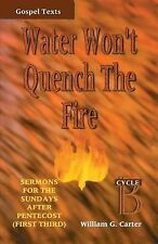 Water Won't Quench the Fire Cycle B : Sermons for the Sundays after Pentecost...