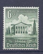 Nazi Germany 3rd Reich 1940 Winter charity Stadttheater Posen 6+4 Stamp MNH WW2
