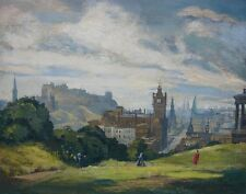 Lavery John Sir The Scene Is Edinburgh Print 11 x 14   #5149