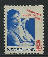 Nederland TG Tweezijdige hoekroltanding  R93 1931 postfris,zie foto's