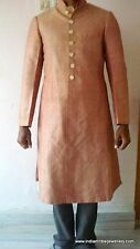 vintage antique ethnic collectible old silver thread kurta coat sherwani jacket
