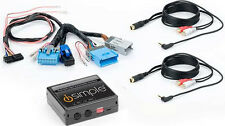 iSimple ISGM535 Dual Auxiliary Audio Input Interface for GM BUICK CHEVROLET GMC