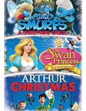Arthur Christmas/The Smurfs: A Christmas Carol/The Swan... [DVD]