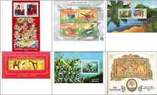 2006 Miniature Sheets Year Pack - set of 6 different MS