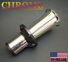CHROME AHOOGA  MODEL T A 12V OLD HORN ANTIQUE VINTAGE KLAXON TYPE WOLF WHISTLE