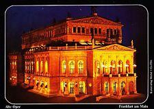 Frankfurt am Main , Alte Oper ,ungelaufene Ansichtskarte