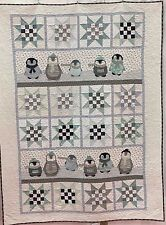 Penguin Winter ~ Applique Quilt Pattern ~ Northern Quilts of Norway ~ children