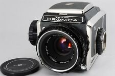 MINT Bronica S2 Medium Format Camera with Nikkor P 75mm 2.8 Lens from Japan