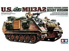 TAMIYA U.S. Desert  M113A2 Armored Personnel Carrier Plastic Model Kit 1/35