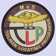 Aufnäher Patch ISAF Mazar-e-Sharif TLP Taliban Locating Progamme ........A2001K