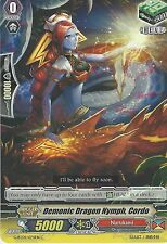 CARDFIGHT VANGUARD CARD: DEMONIC DRAGON NYMPH, CORDO - G-BT09/074EN C