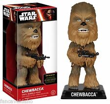 "Star Wars Episode 7 Chewbacca Wacky Wobbler 7"" Bobble Head Figurine"